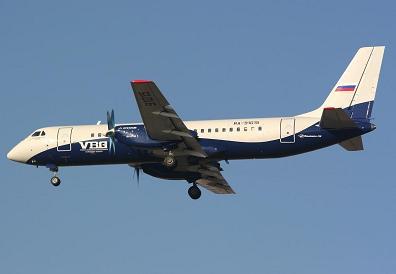Ближнемагистральный пассажирский самолет ил-114.