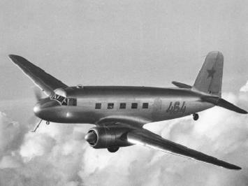Ближнемагистральный пассажирский самолет як-16.