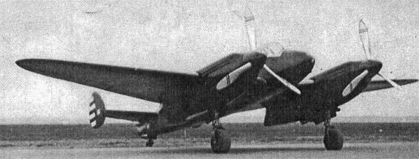 Ближний бомбардировщик як-2 (бб-22).