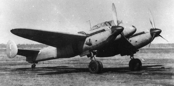Ближний бомбардировщик як-4 (бб-22бис).