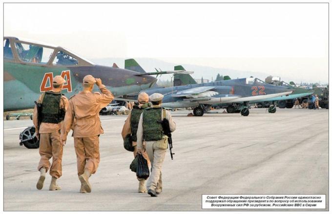 Боевое применение штурмовиков су-25 в сирии