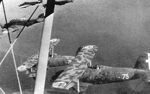 Боевые действия ввс италии в начале второй мировой войны