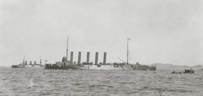 Бой в желтом море 28 июля 1904 г. часть 13: солнце склонилось к закату