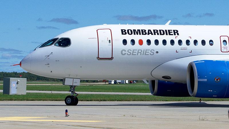 Bombardier cs 100. технические характеристики. фото