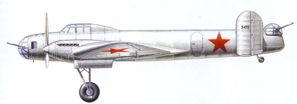 Бомбардировщик к-13.