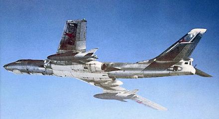 Бомбардировщик-ракетоносец средний дальности ту-16кср (ту-16к-16).