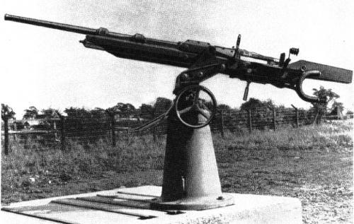 Британская 40-мм автоматическая пушка rolls-royce bd/вн