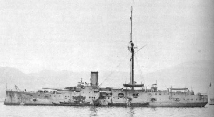 Броненосец (исэ и хюга) вместо трех крейсеров