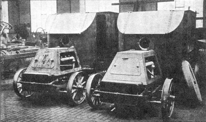 Бронетехника византийской империи - бронеавтомобили, часть i (old)