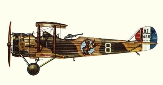 Caudron c.500 simoun. технические характеристики. фото.