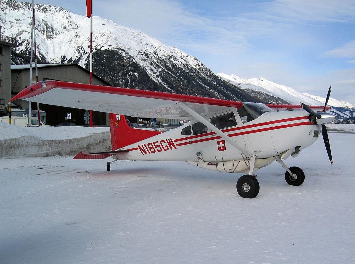 Cessna 185 skywagon. фото. характеристика.
