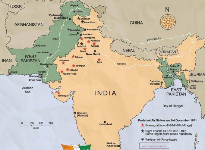 Частный эпизод экзотической войны. миг-21 ввс индии против f-104 ввс пакистана в войне 1971 года