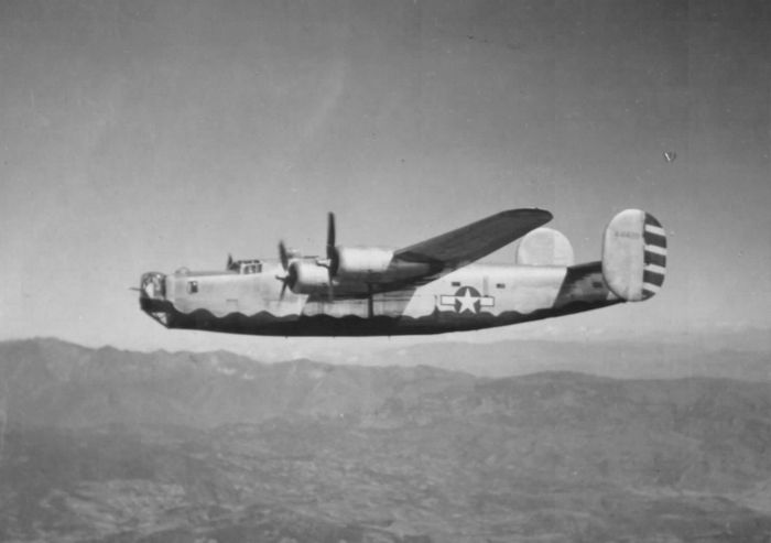 Consolidated b-24 liberator на тихом океане и в юго-восточной азии