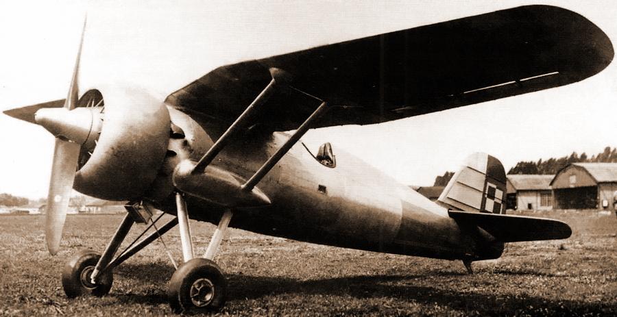 Цвета военного неба: «фридом файтер» тридцатых годов