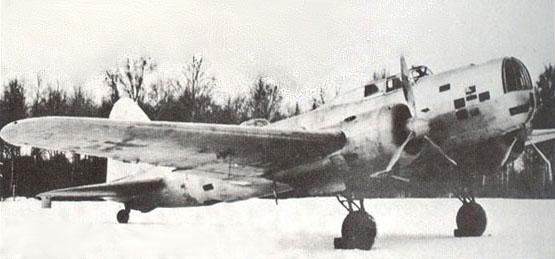 Дальний бомбардировщик дб-3 (цкб-30).