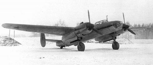 Дальний бомбардировщик ту-2д (62).