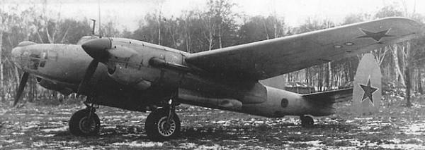 Дальний бомбардировщик ту-2д (67).