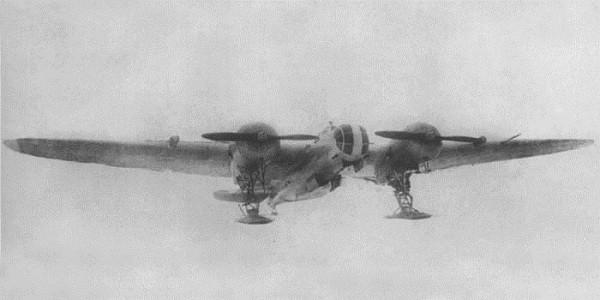 Дальний истребитель ди-8 (ант-46).