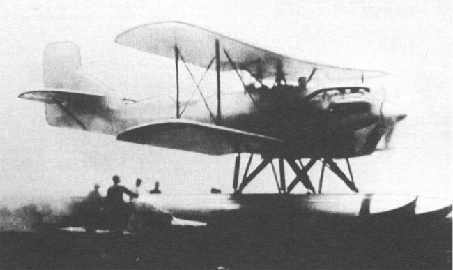 Дальний корабельный разведчик aichi ab-6 (e7a)