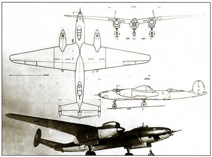 Дальний высотный бомбардировщик двб-102.
