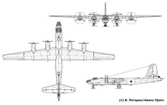 Дальний высотный бомбардировщик двб-202 (проект).