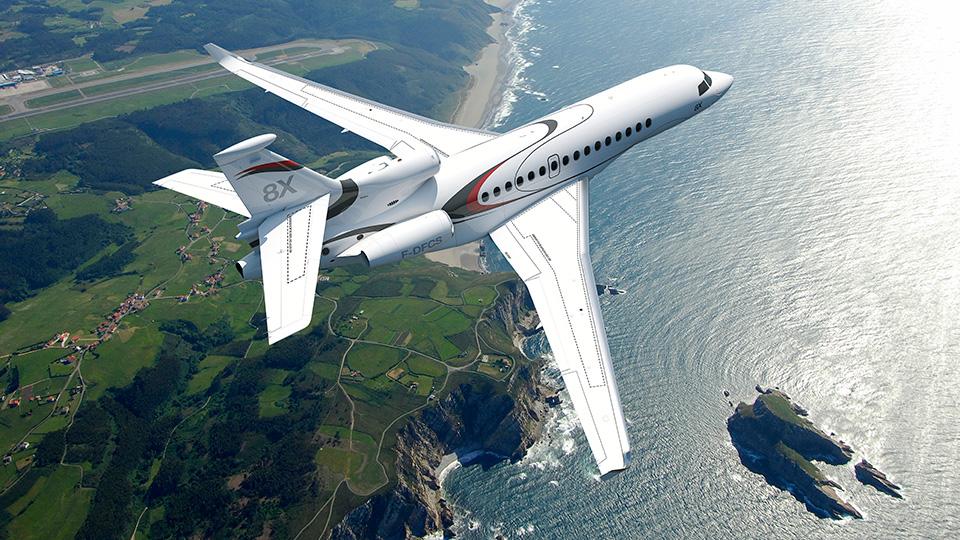 Dassault falcon 8x. технические характеристики. фото.
