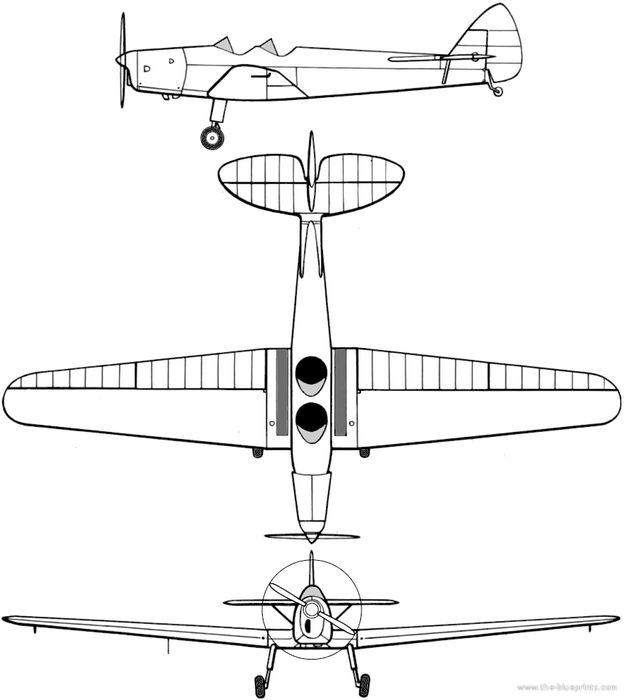De havilland dh 94 moth minor. технические характеристики. фото.