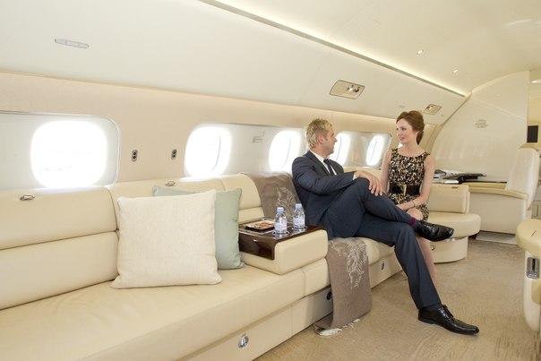 Деловая авиация - плюсы вида передвижения