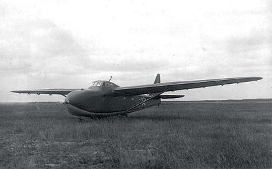 Десантный планер ц-25.