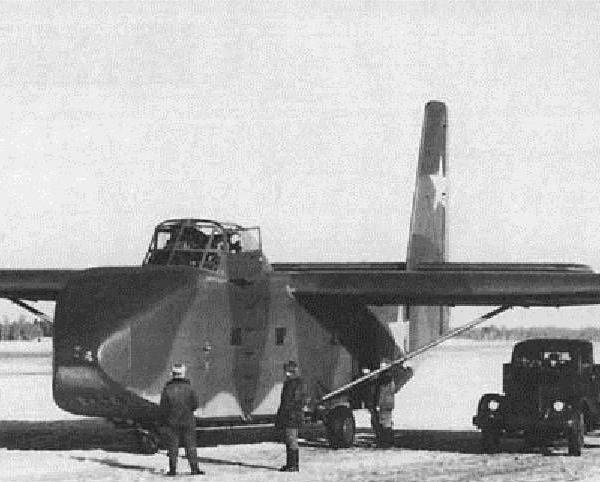 Десантный планер як-14.