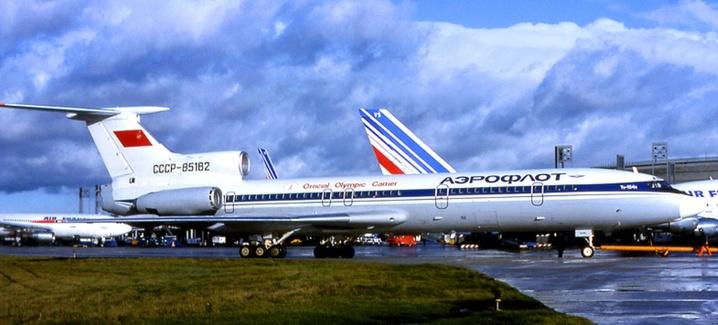 Дизайн олимпийских самолетов от 1980 до 2014 годов.