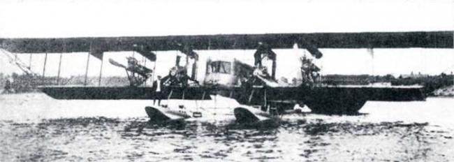 Дополнение к части v «балтийский флот в первой мировой - на пороге перемен»: авиаматка торпедоносной авиации «погоныш».