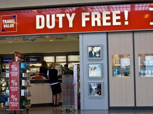 Duty free аэропорт видео