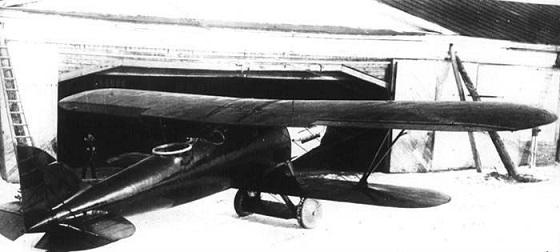 Двухместный истребитель 2и-н1 (2.и.н.1.).