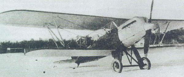 Двухместный истребитель д-2 (ди-2).