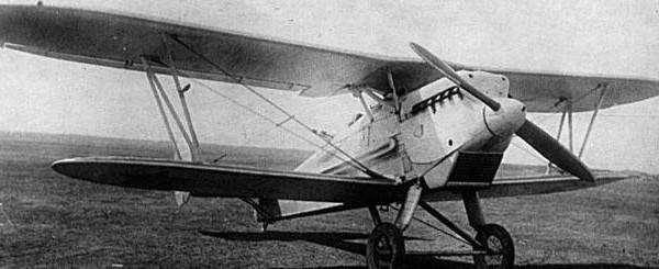 Двухместный истребитель ди-3.