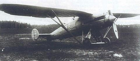 Двухместный истребитель ди-4.