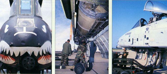 Fairchild a-10 thunderbolt ii. вооружение и полезная нагрузка