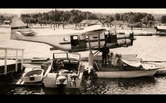 Fairchild f-11 husky. технические характеристики. фото.