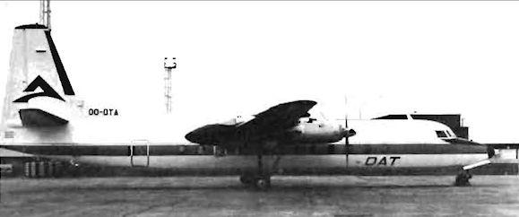 Fairchild f-27. технические характеристики. фото.