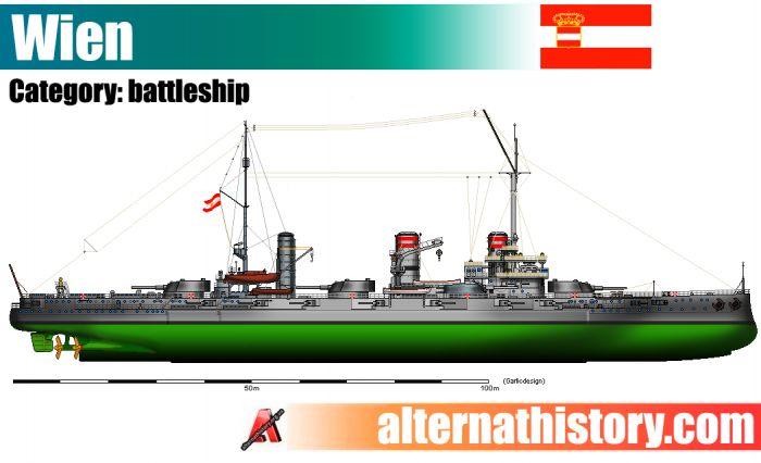 Флот германской империи в мире царя алексея петровича. линкоры типа «вена»