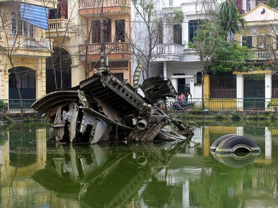 Фото дня: «рождественские бомбардировки» вьетнама