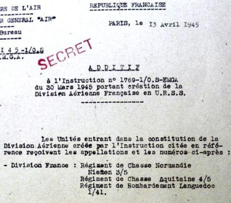 Французская авиадивизия на советском фронте. часть i