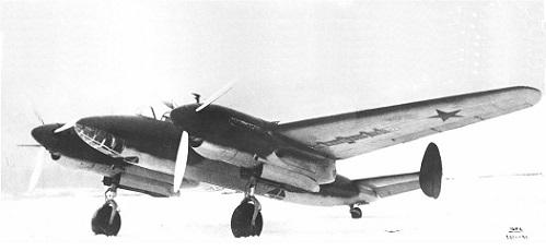 Фронтовой бомбардировщик ант-58 (фб, самолет 103).