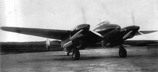 Фронтовой бомбардировщик фб (самолет 103у).