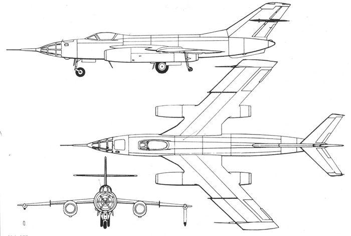 Фронтовой бомбардировщик як-25б (як-125б).