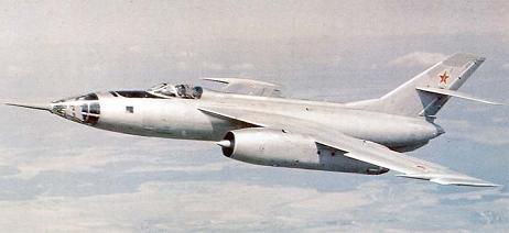 Фронтовой бомбардировщик як-28.