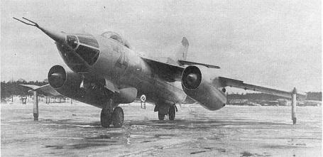 Фронтовой бомбардировщик як-28и.