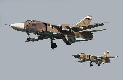 Фронтовой бомбардировщик су-24мк.