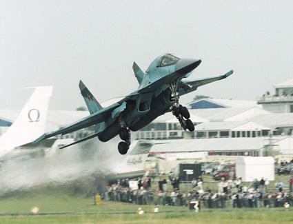 Фронтовой бомбардировщик су-32.